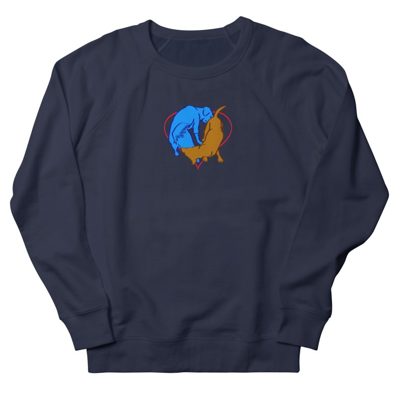 friends Women's French Terry Sweatshirt by truthpup's Artist Shop