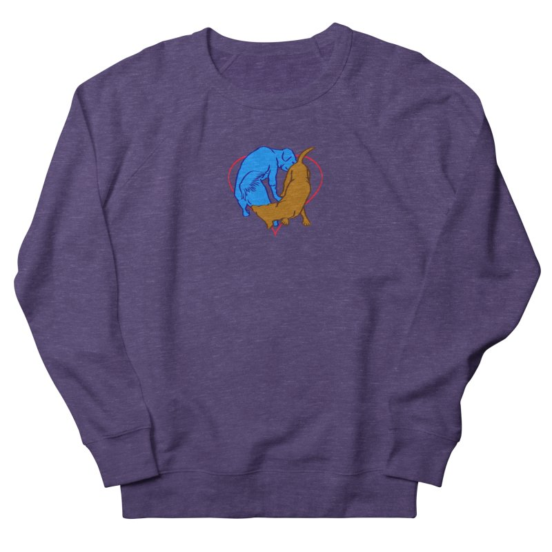 friends Men's French Terry Sweatshirt by truthpup's Artist Shop