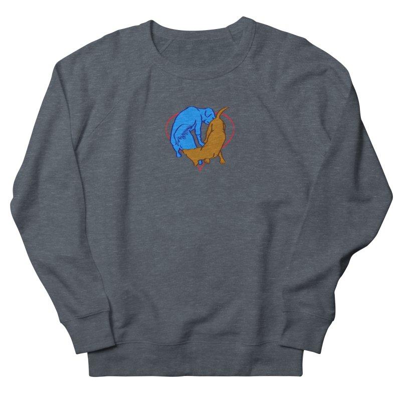 friends Men's French Terry Sweatshirt by truthpup's Artist Shop