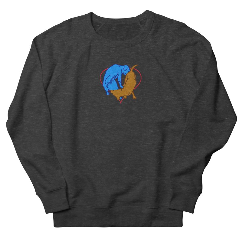 love at first... Men's French Terry Sweatshirt by truthpup's Artist Shop