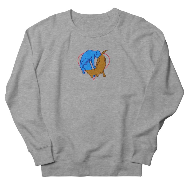love at first sniff Men's French Terry Sweatshirt by truthpup's Artist Shop