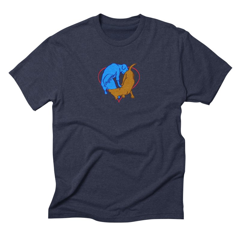 love at first... Men's Triblend T-Shirt by truthpup's Artist Shop