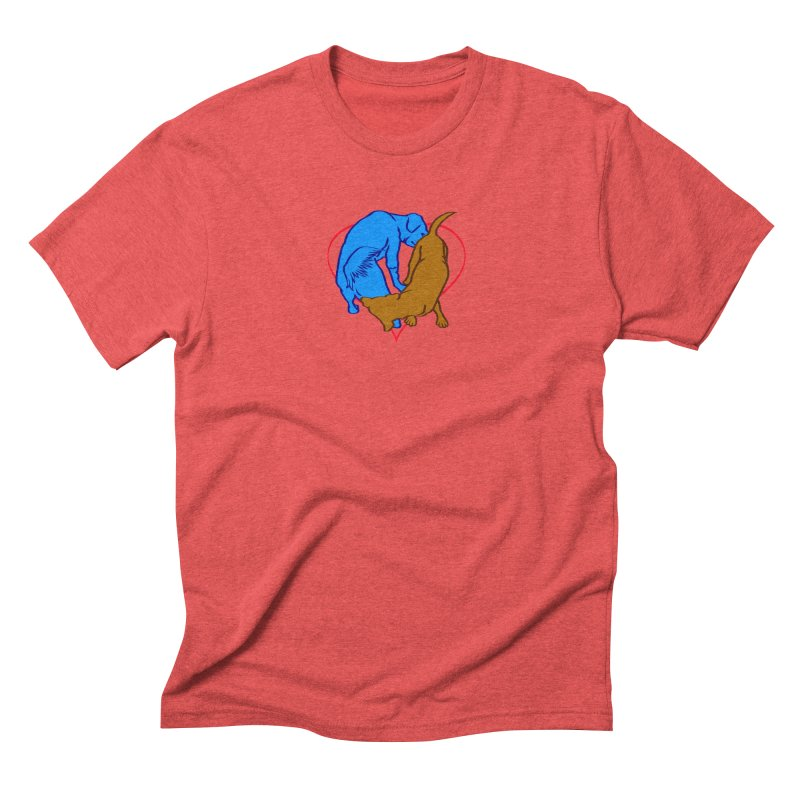 love at first sniff Men's Triblend T-Shirt by truthpup's Artist Shop