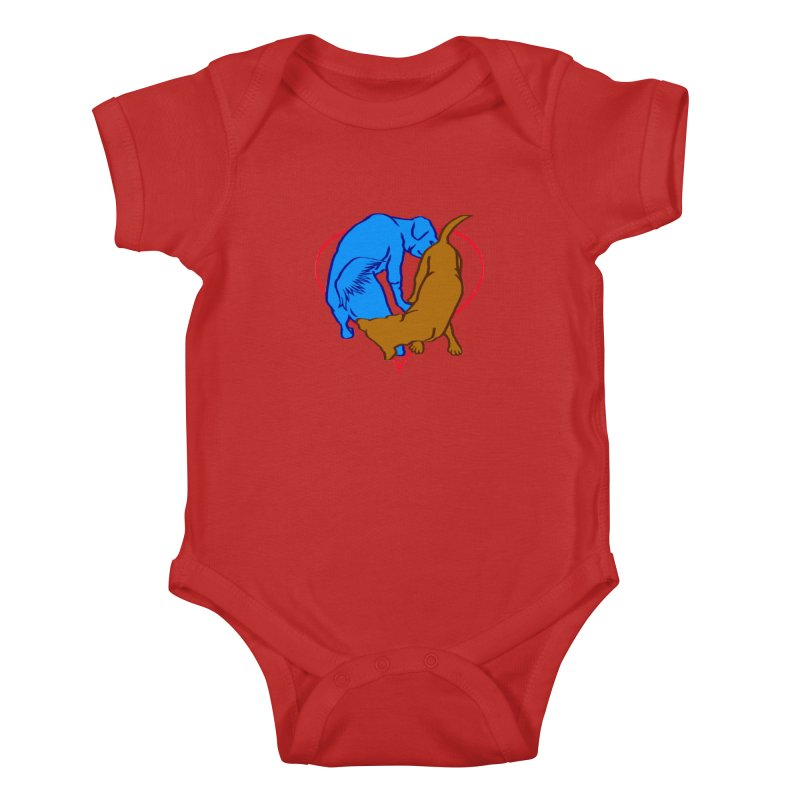 love at first... Kids Baby Bodysuit by truthpup's Artist Shop