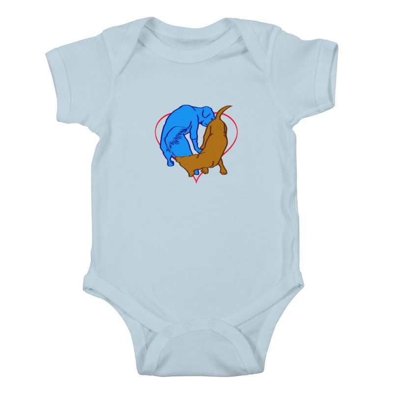 love at first sniff Kids Baby Bodysuit by truthpup's Artist Shop