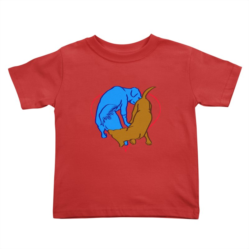 love at first... Kids Toddler T-Shirt by truthpup's Artist Shop
