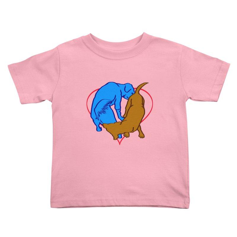 friends Kids Toddler T-Shirt by truthpup's Artist Shop