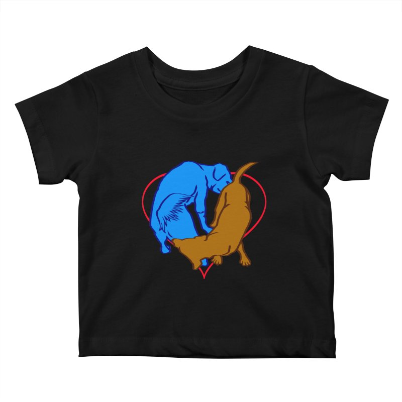 love at first... Kids Baby T-Shirt by truthpup's Artist Shop