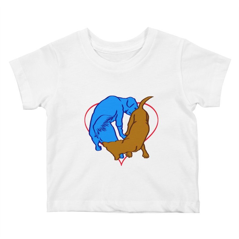 friends Kids Baby T-Shirt by truthpup's Artist Shop