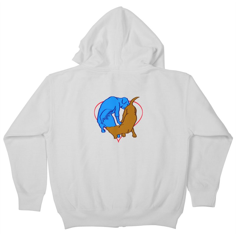 love at first... Kids Zip-Up Hoody by truthpup's Artist Shop