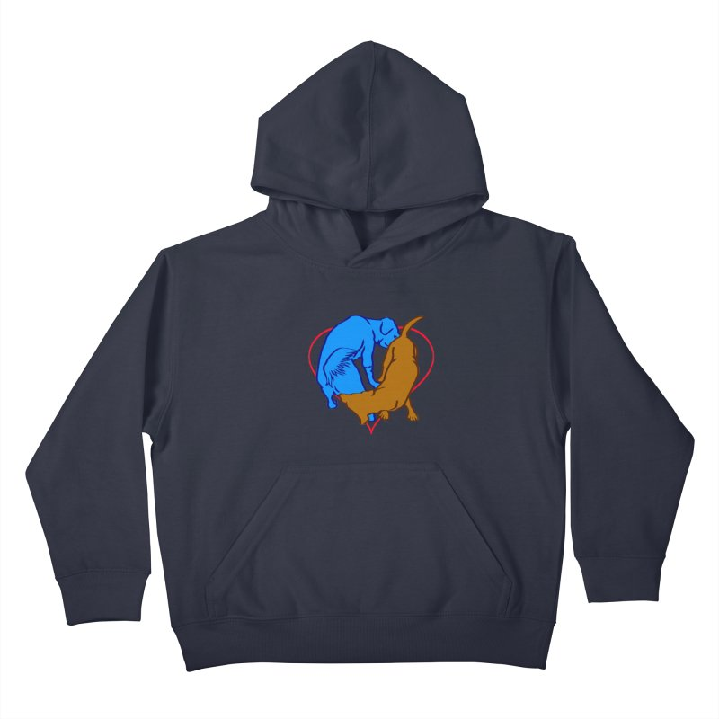 love at first... Kids Pullover Hoody by truthpup's Artist Shop