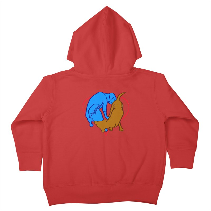 friends Kids Toddler Zip-Up Hoody by truthpup's Artist Shop