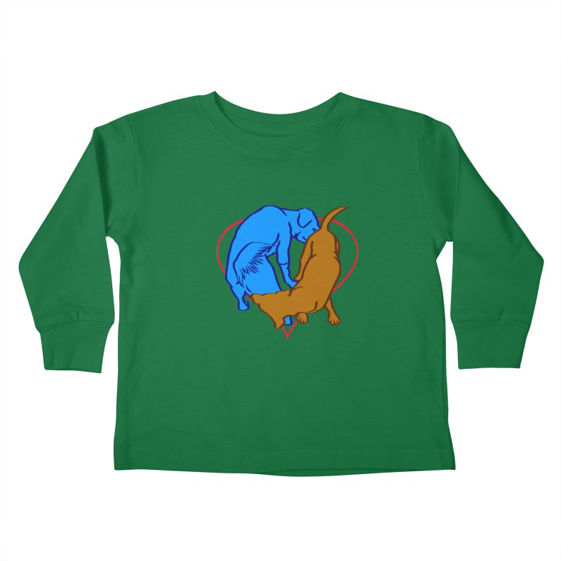love at first... Kids Toddler Longsleeve T-Shirt by truthpup's Artist Shop
