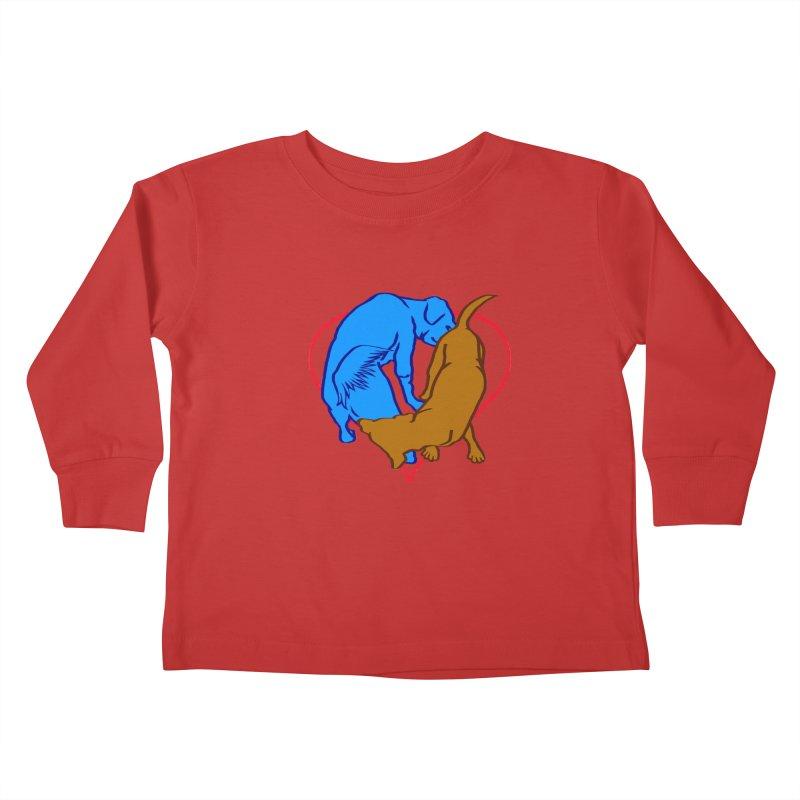love at first... Kids Toddler Longsleeve T-Shirt by truthpup's Artist Shop