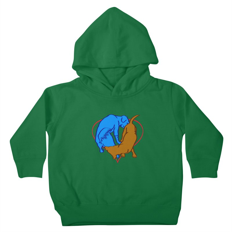 love at first... Kids Toddler Pullover Hoody by truthpup's Artist Shop
