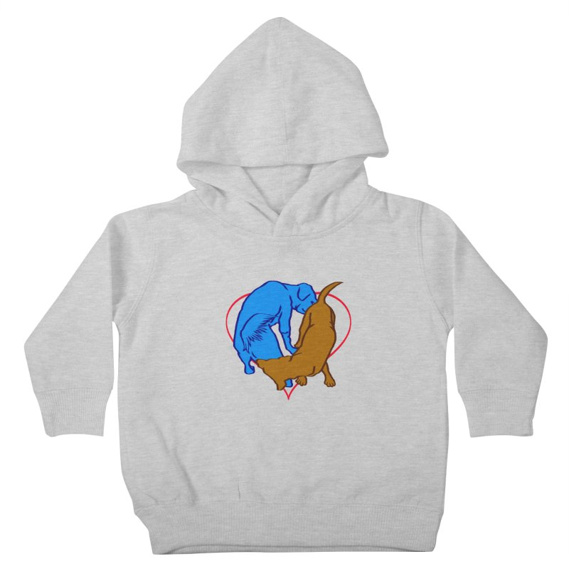 love at first sniff Kids Toddler Pullover Hoody by truthpup's Artist Shop