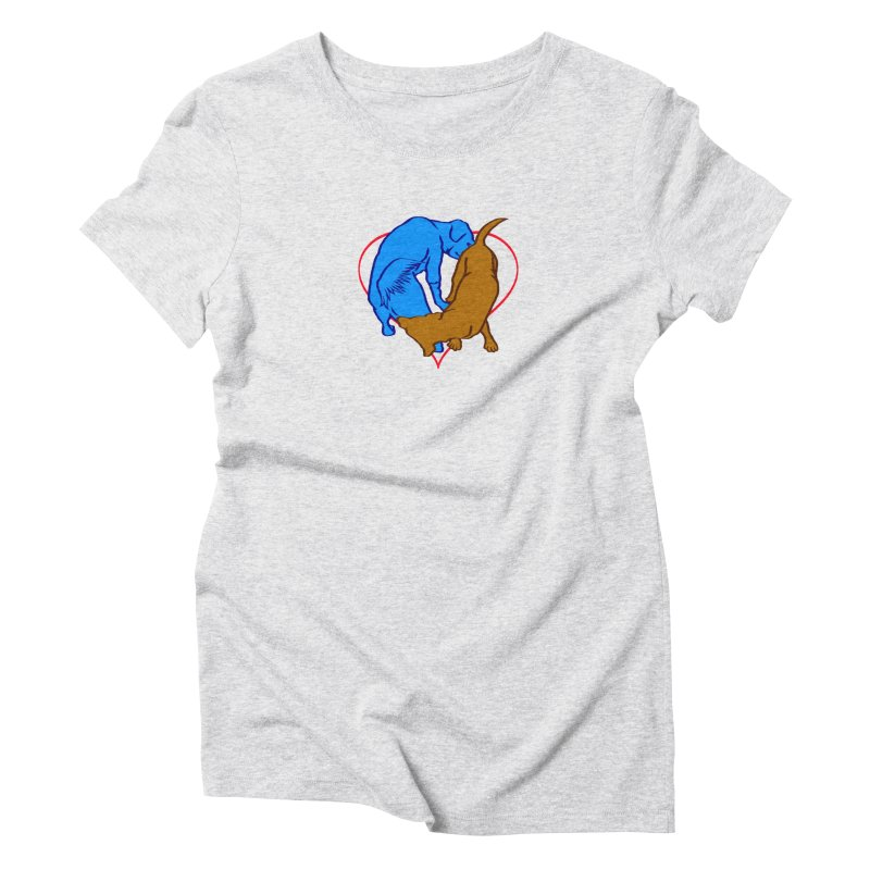 love at first... Women's T-Shirt by truthpup's Artist Shop