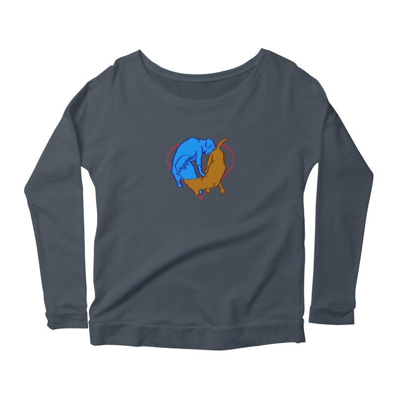 love at first... Women's Scoop Neck Longsleeve T-Shirt by truthpup's Artist Shop