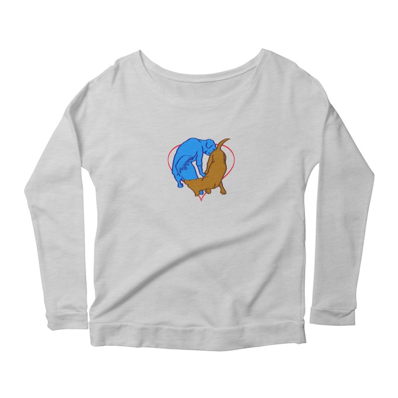 love at first... Women's Scoop Neck Longsleeve T-Shirt by truthpup's Artist Shop