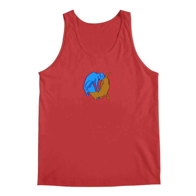 love at first sniff Men's Regular Tank by truthpup's Artist Shop