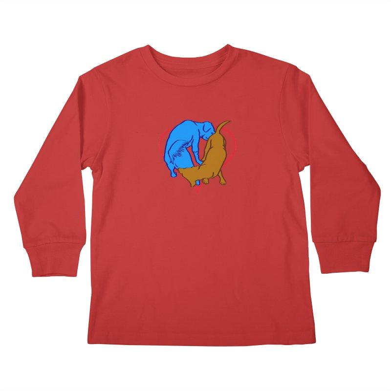 friends Kids Longsleeve T-Shirt by truthpup's Artist Shop