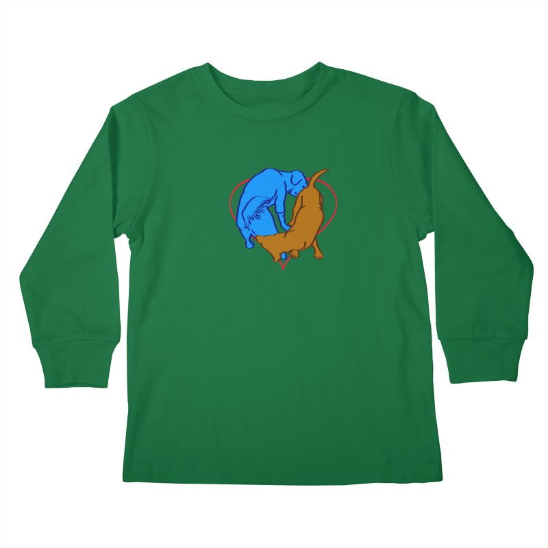 love at first... Kids Longsleeve T-Shirt by truthpup's Artist Shop