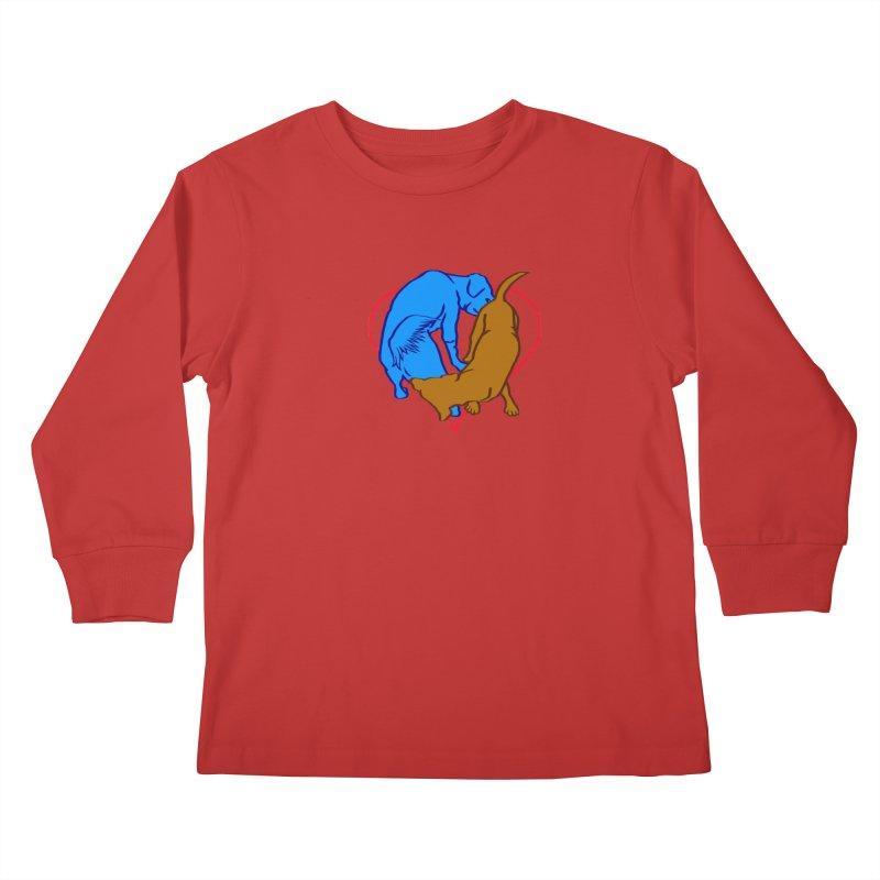 love at first... Kids Longsleeve T-Shirt by truthpup's Artist Shop