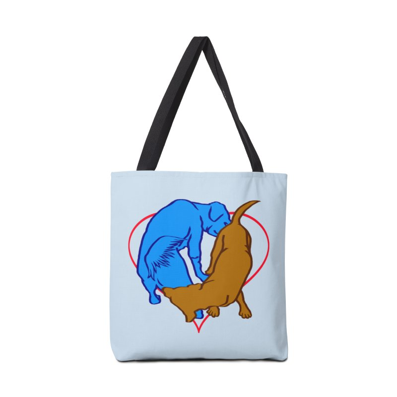 love at first... Accessories Bag by truthpup's Artist Shop