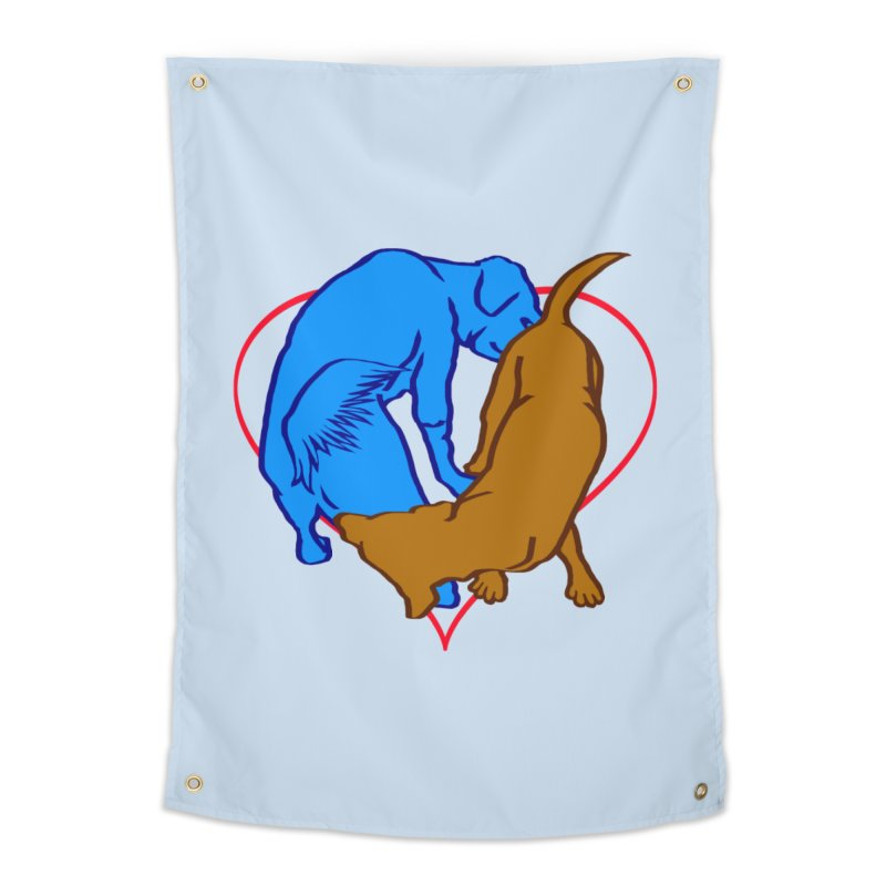 love at first... Home Tapestry by truthpup's Artist Shop