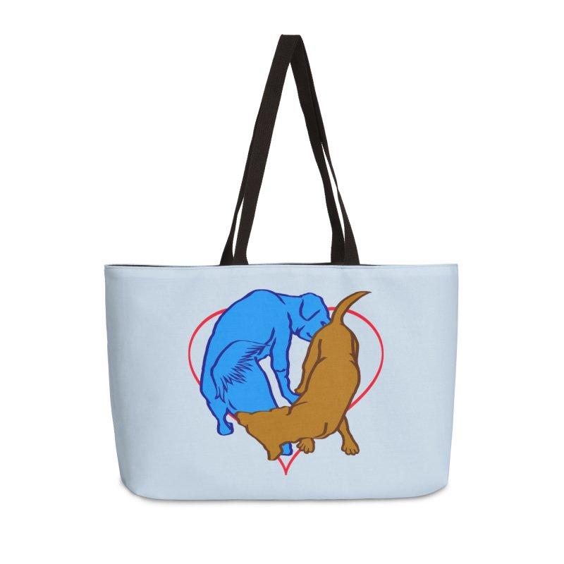friends Accessories Weekender Bag Bag by truthpup's Artist Shop