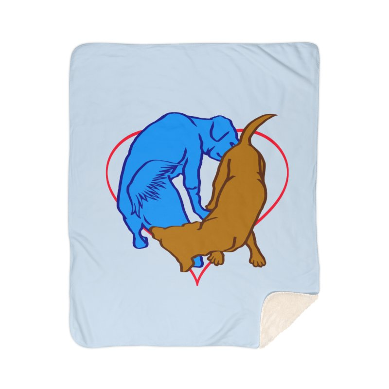 friends Home Sherpa Blanket Blanket by truthpup's Artist Shop