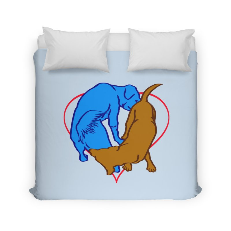 love at first sniff Home Duvet by truthpup's Artist Shop