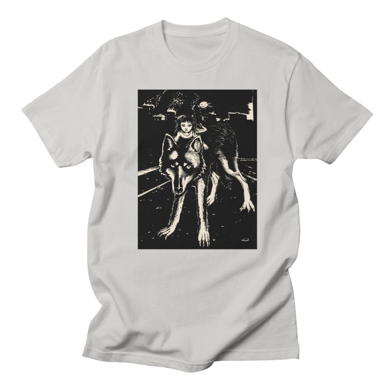 wolf rider Women's T-Shirt by truthpup's Artist Shop