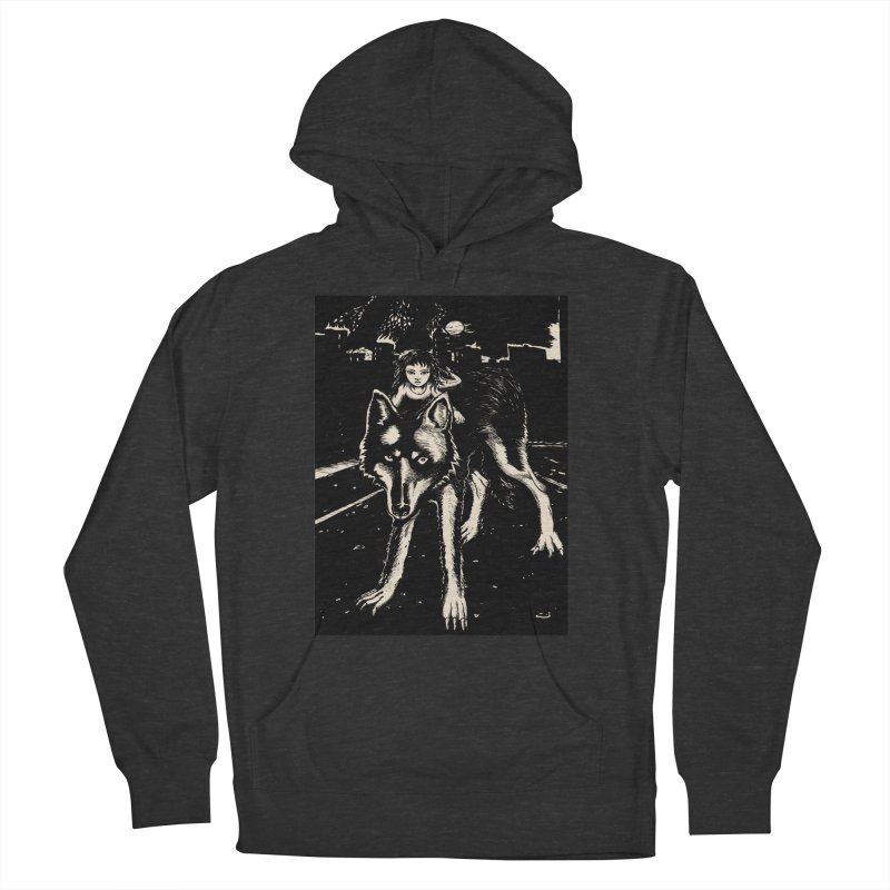wolf rider Men's Pullover Hoody by truthpup's Artist Shop