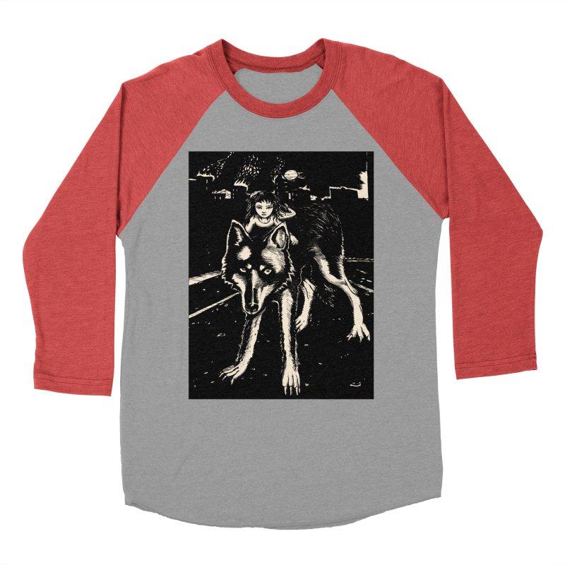 wolf rider Men's Longsleeve T-Shirt by truthpup's Artist Shop