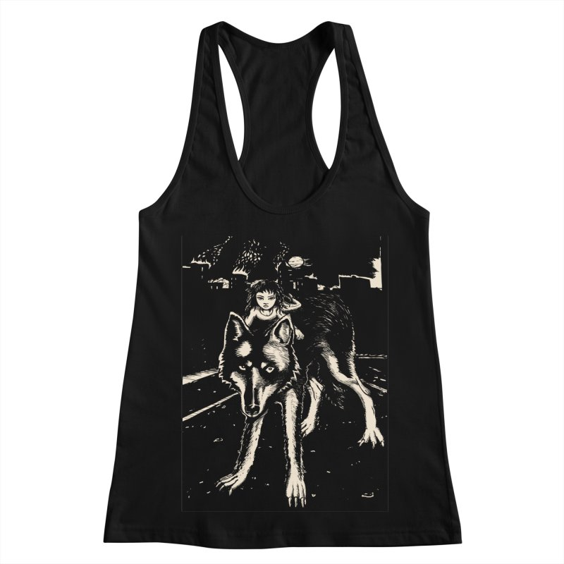 wolf rider Women's Tank by truthpup's Artist Shop