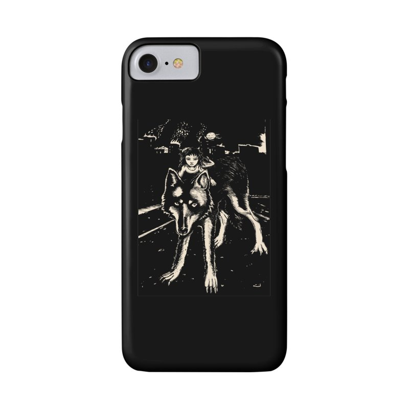 wolf rider Accessories Phone Case by truthpup's Artist Shop