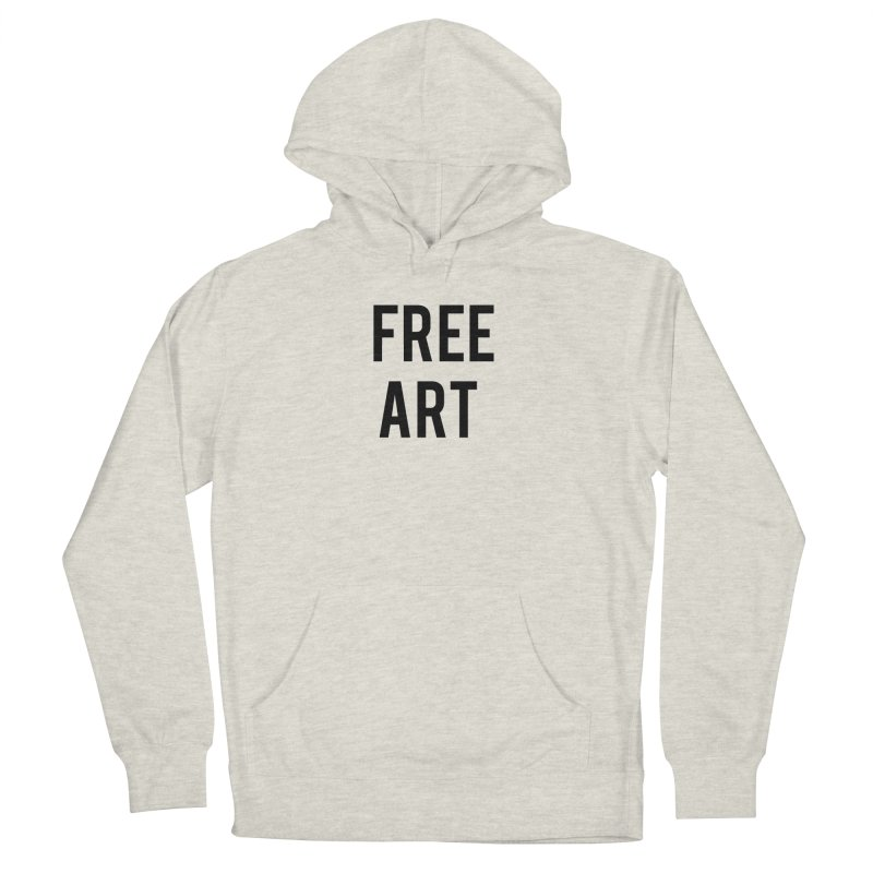free art Men's Pullover Hoody by truthpup's Artist Shop