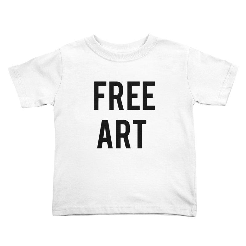 free art Kids Toddler T-Shirt by truthpup's Artist Shop