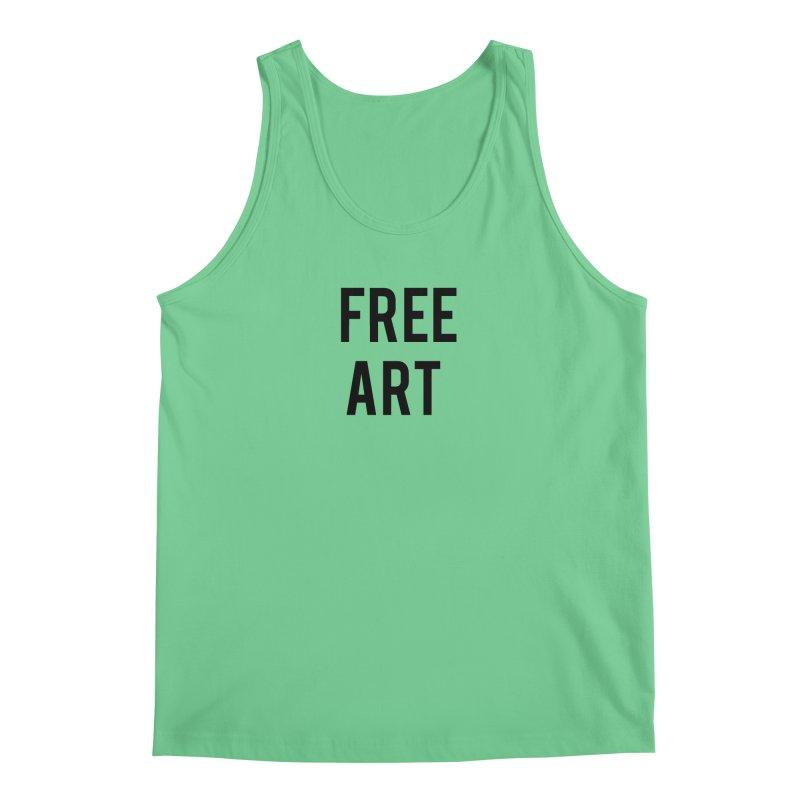 free art Men's Tank by truthpup's Artist Shop