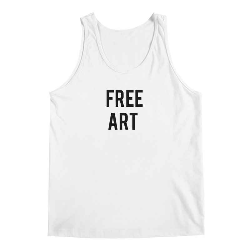 free art Men's Tank by truthpup's Artist Shop