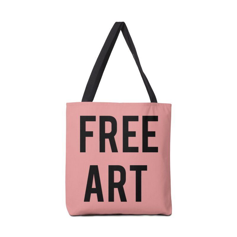 free art Accessories Tote Bag Bag by truthpup's Artist Shop