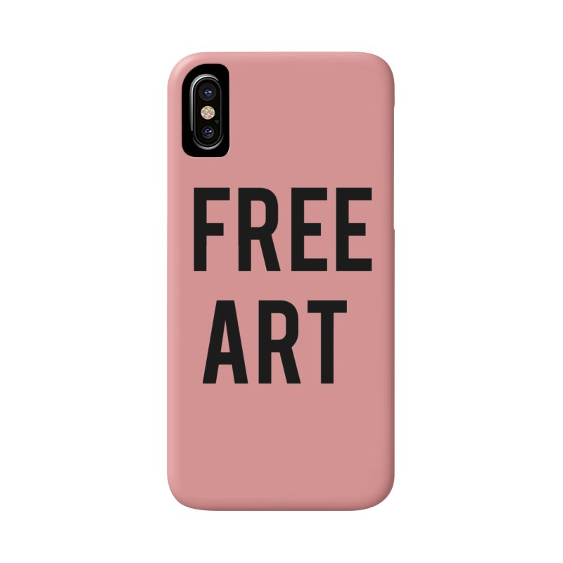 free art Accessories Phone Case by truthpup's Artist Shop