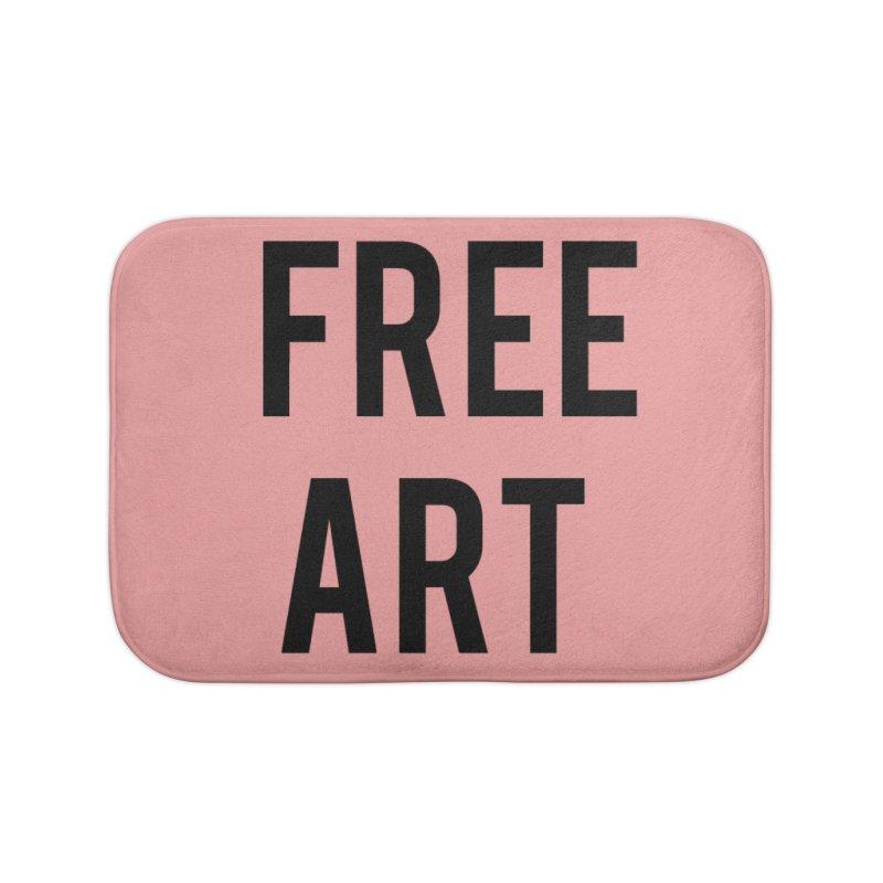 free art Home Bath Mat by truthpup's Artist Shop