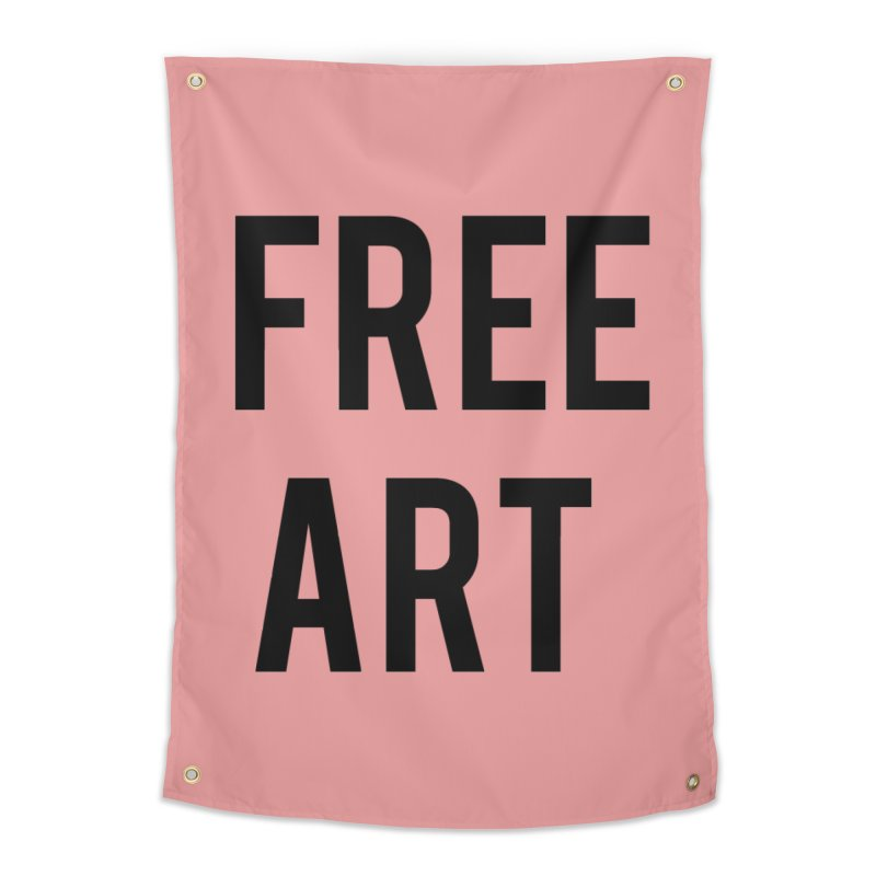free art Home Tapestry by truthpup's Artist Shop