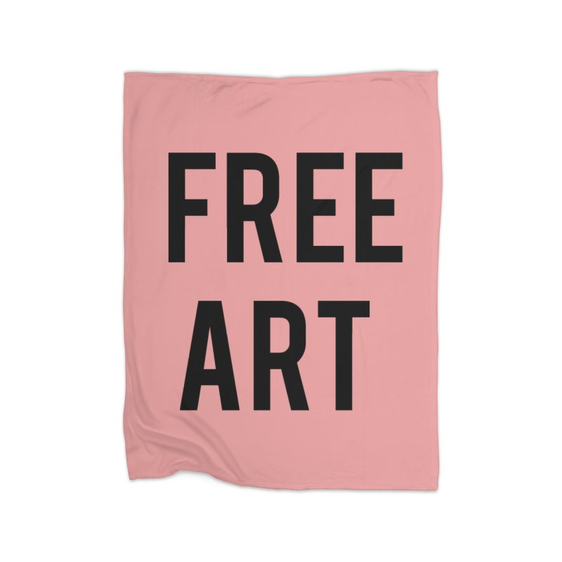 free art Home Blanket by truthpup's Artist Shop