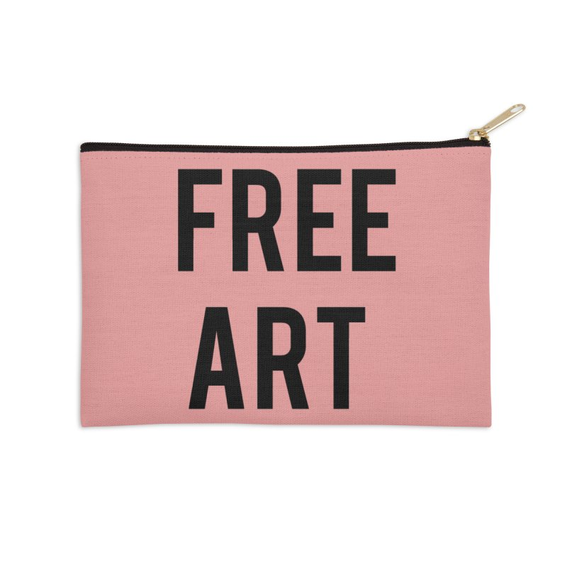 free art Accessories Zip Pouch by truthpup's Artist Shop