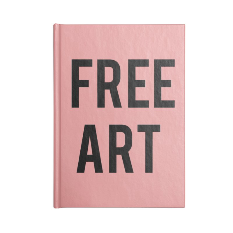free art Accessories Lined Journal Notebook by truthpup's Artist Shop