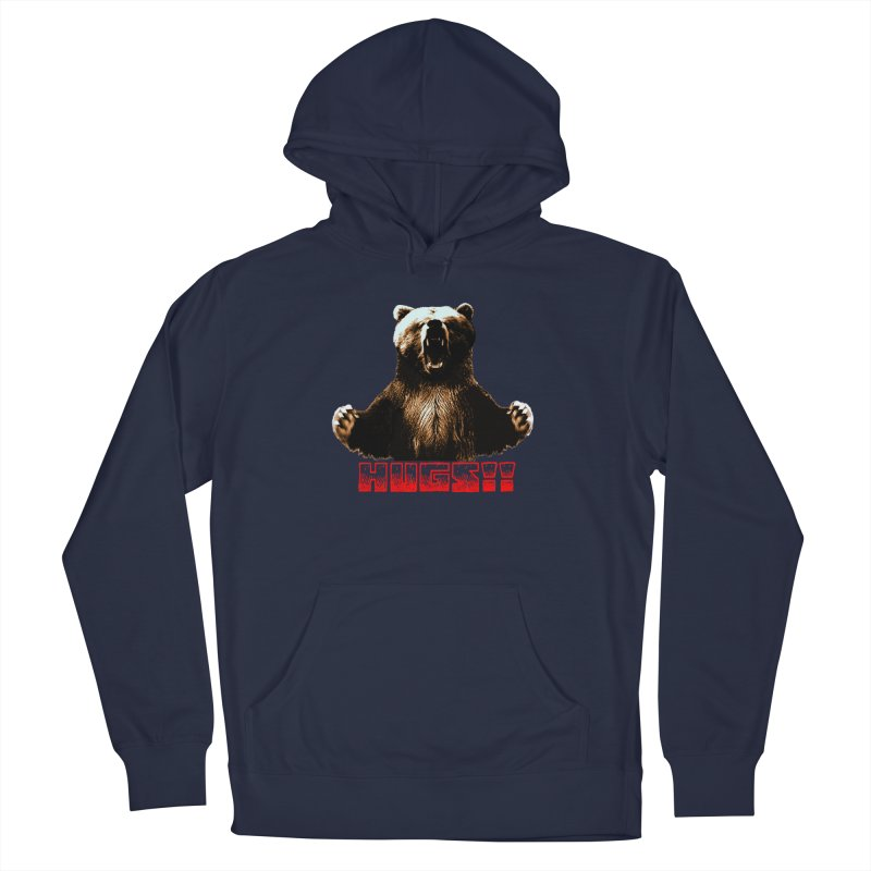 HUGS!!  Women's French Terry Pullover Hoody by truthpup's Artist Shop