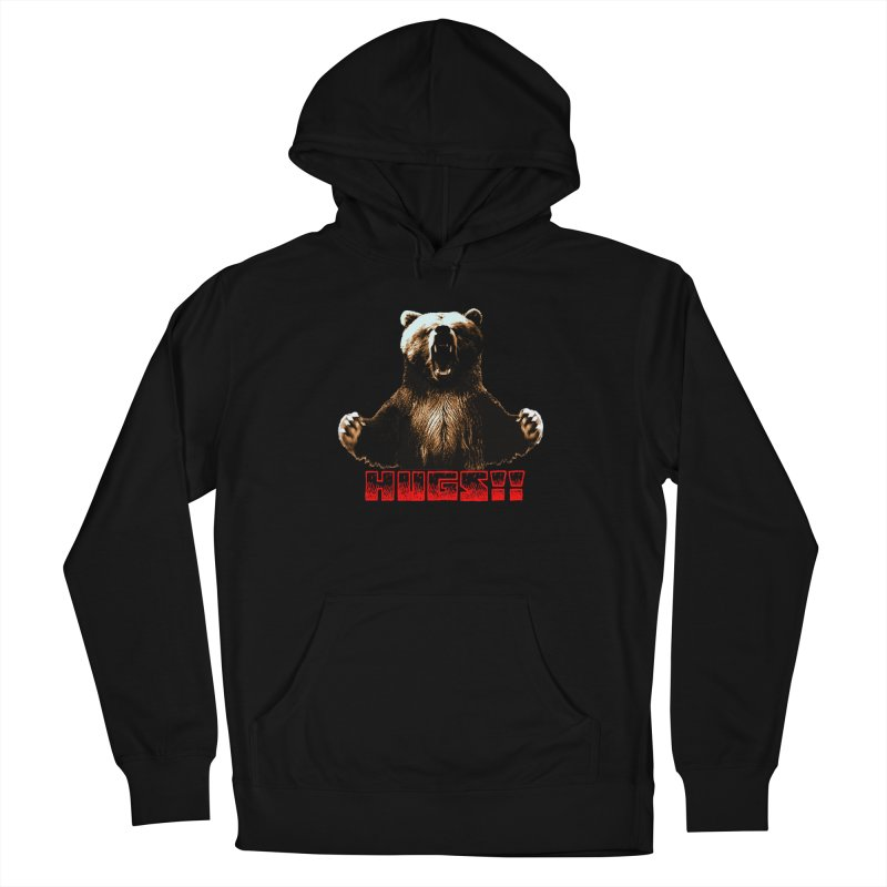 HUGS!!  Men's French Terry Pullover Hoody by truthpup's Artist Shop